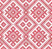 Seamless traditional Russian and slavic ornament.Four-color palette of raspberry in random order. Russian ethnic ornament.DISABLING LAYER, you can obtain royalty free illustration