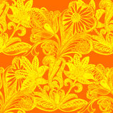 Russian Ethnic ornament, seamless pattern , decoration objects Stock Photography