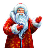 Russian Father Frost Royalty Free Stock Images