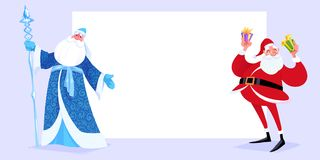 Russian Father Frost also known as Ded Moroz Royalty Free Stock Image