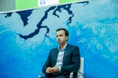 Russian Federation Deputy Prime Minister Arkady Dvorkovich Royalty Free Stock Photos