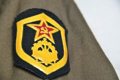 Russian federation military force aggression Royalty Free Stock Image