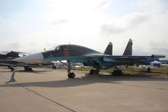 Russian fighter-bomber SU-34 Stock Image