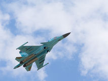 Russian fighter-bomber Su-34 Royalty Free Stock Photo