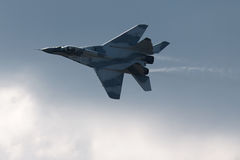 Russian fighter MIG 29 Stock Photography