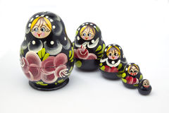 Russian figurines Royalty Free Stock Photography