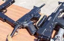 Russian firearms. Submachine gun Kedr Royalty Free Stock Image
