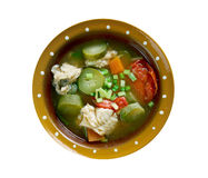 Russian fish solyanka. Soup - Ural kalja Stock Photography