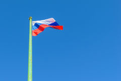 The Russian flag Stock Image