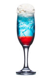 Russian flag cocktail Stock Photography