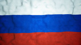 Russian Flag Seamless Video Loop stock footage