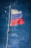 Russian flag. Royalty Free Stock Images