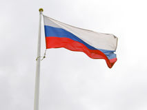 Russian flag tricolor. Stock Photos
