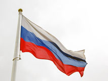 Russian flag tricolor. Royalty Free Stock Image