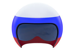 Russian Flight Helmet Stock Photo