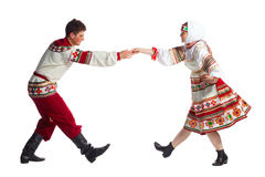 Russian folk dance Royalty Free Stock Image