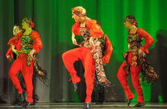 Russian folk dance group Royalty Free Stock Image