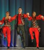 Russian folk dance group Royalty Free Stock Photos