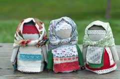 Russian folk doll Stock Images