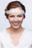 Russian folk girl Stock Image