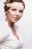 Russian folk girl Royalty Free Stock Image