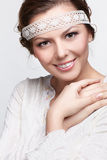Russian folk girl Royalty Free Stock Image