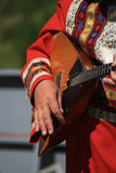 Russian folk instrument balalaika Royalty Free Stock Photo
