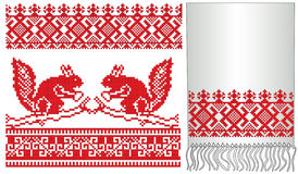 Russian folk old squirrel Stock Image