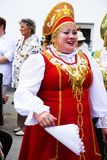 Russian folk song. Pokrovsky Folk Choir. Stock Photos