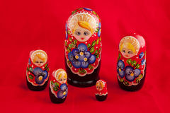 Russian folk toy: Royalty Free Stock Photo