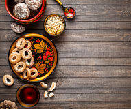 Russian food concept Royalty Free Stock Photography