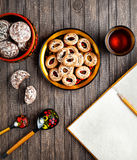 Russian food concept Stock Image