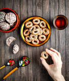 Russian food concept Stock Photo