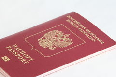 A Russian foreign passport Stock Images