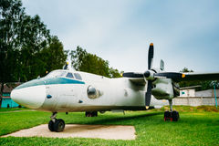 Russian Freighter Aircraft Plane AN-26 Stock Photography