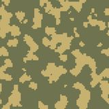 Russian frontier guard green seamless camo. Pattern Royalty Free Stock Images