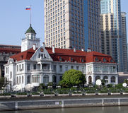 Russian general consulate in Shanghai, China Stock Photography