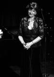 Russian-Georgian singer Nani Bregvadze, Moscow. Russian-Georgian singer Nani Bregvadze, Moscow, 2014/02/17 Stock Photo