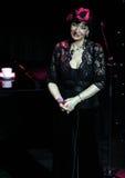 Russian-Georgian singer Nani Bregvadze, Moscow. Russian-Georgian singer Nani Bregvadze, Moscow, 2014/02/17 Stock Photography