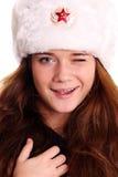 Russian girl Royalty Free Stock Photo
