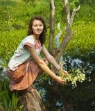 Russian girl Stock Photos