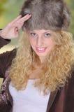 Russian girl Royalty Free Stock Photos