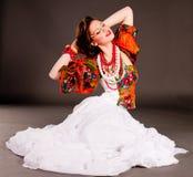 Russian girl Stock Photo