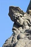 Russian girl tsarevnal-fragment of a sculpture Stock Images
