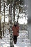Russian girl Stock Image