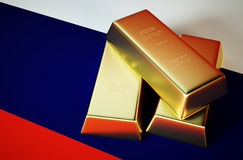 Russian gold Royalty Free Stock Photos