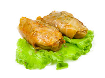 Russian Goloubets - Stuffed Cabbage Roll Royalty Free Stock Images