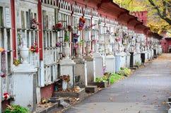 Russian Graveyard Royalty Free Stock Photo
