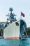 Russian guided missile cruiser Moskva Royalty Free Stock Photography
