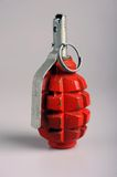 Russian hand grenade. Russian (Soviet) pattern F1 hand grenade, nicknamed the limonka (lemon grenade), is an anti-personnel fragmentation defensive grenade. The Royalty Free Stock Images